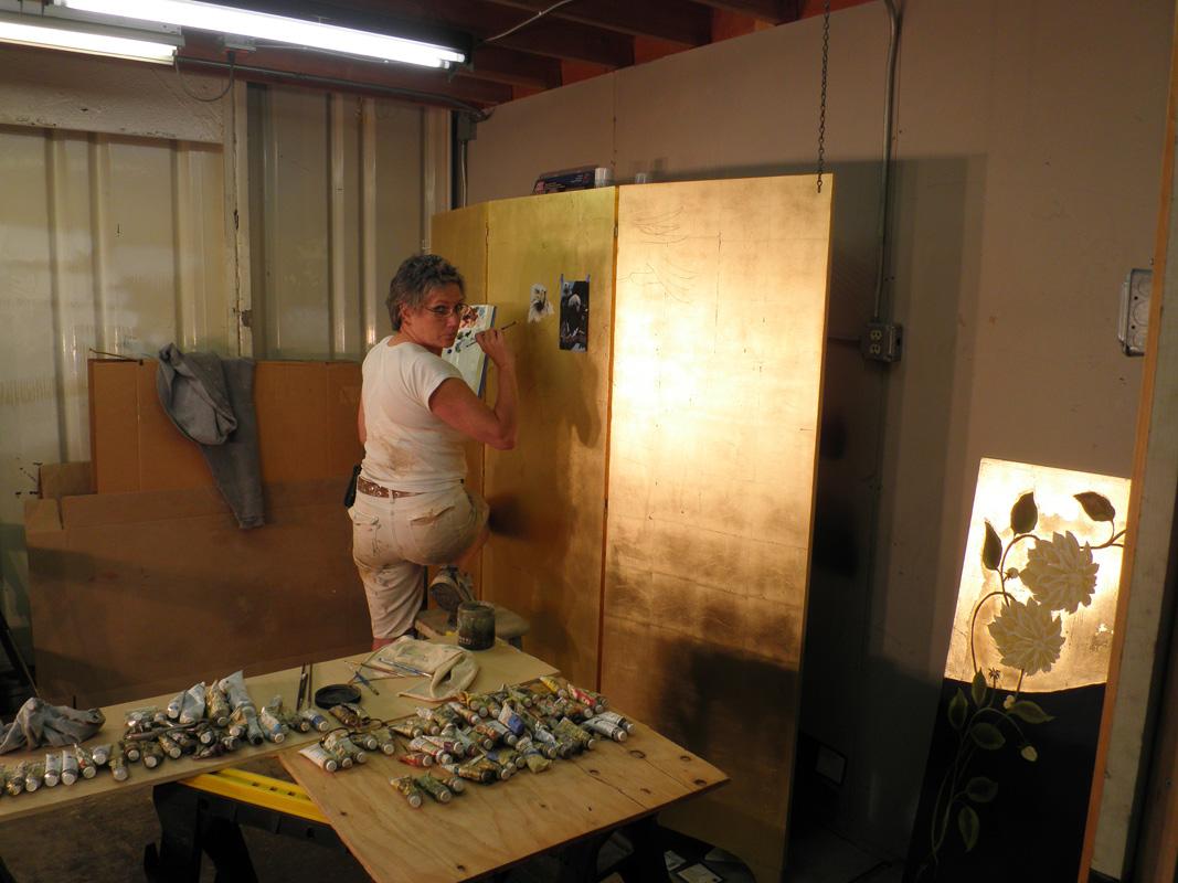 Peta Sanderson Murals, Restoration and Faux Finishing